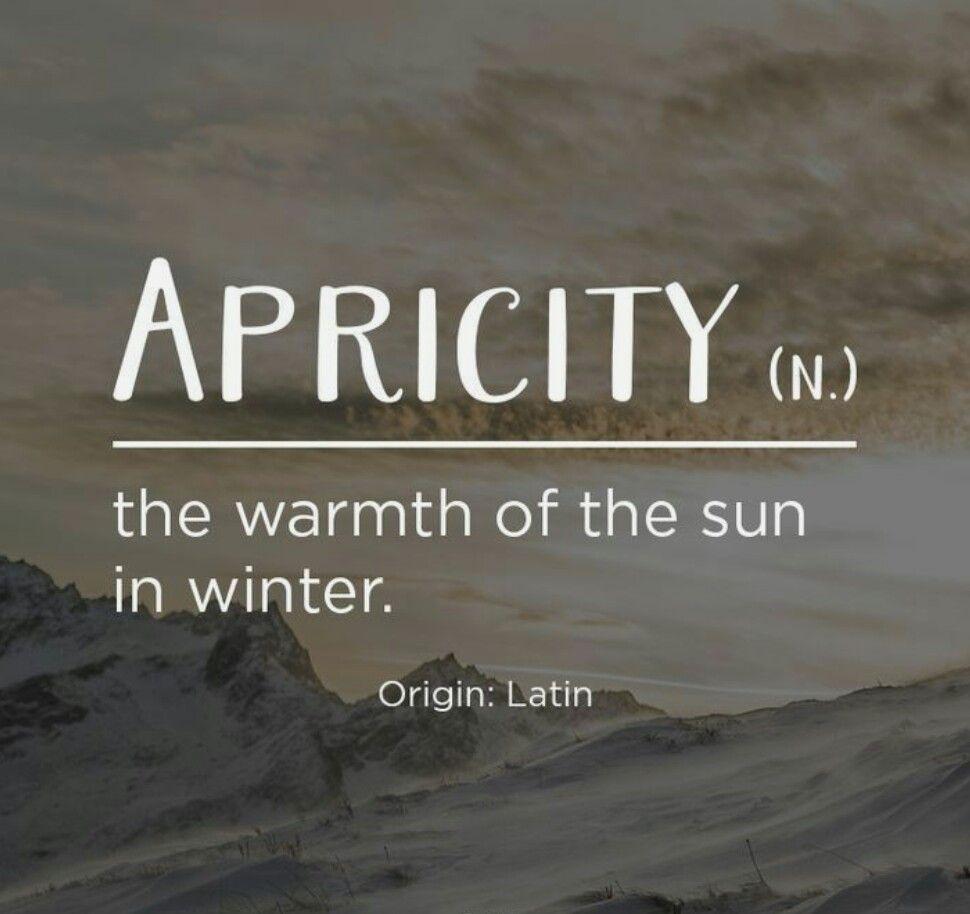 Sun Quotes: Winter Sun #warmth