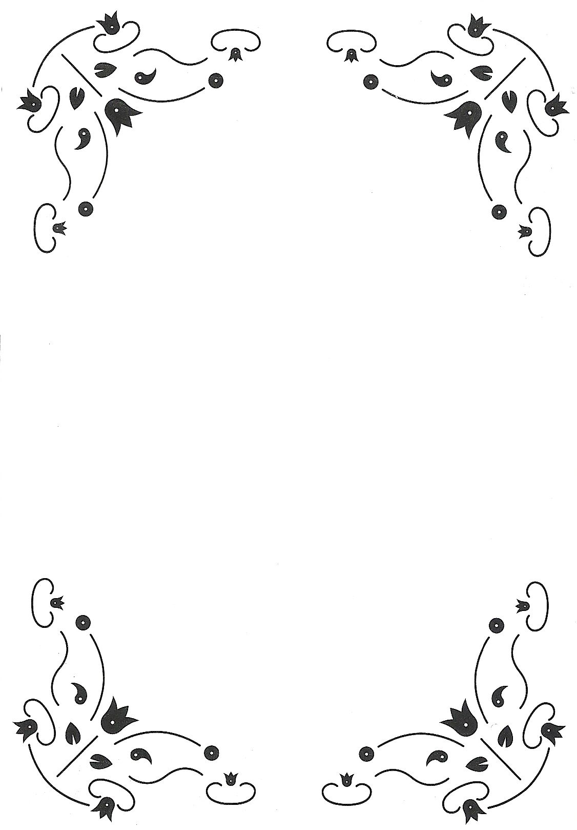 rechthoek | parchment | Pinterest | Marcos para cartas, Hojas para ...