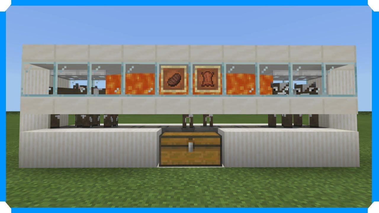 Easy Minecraft Cow Farm