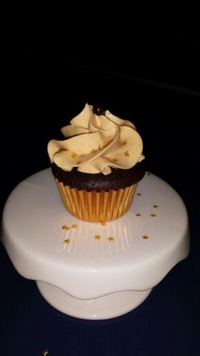 Peanut Butter Callebaut Chocolate Cupcake
