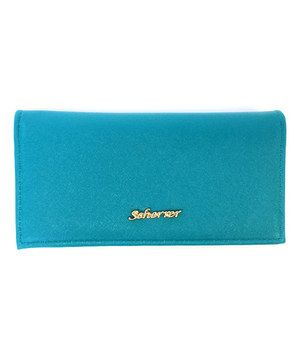 Look what I found on #zulily! Jean-Louis Scherrer Green Fold-Over Wallet by Jean-Louis Scherrer #zulilyfinds