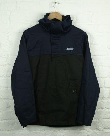 6201dae00 Palace Shower Jacket Black/Navy   Style   Jackets, Black, Style