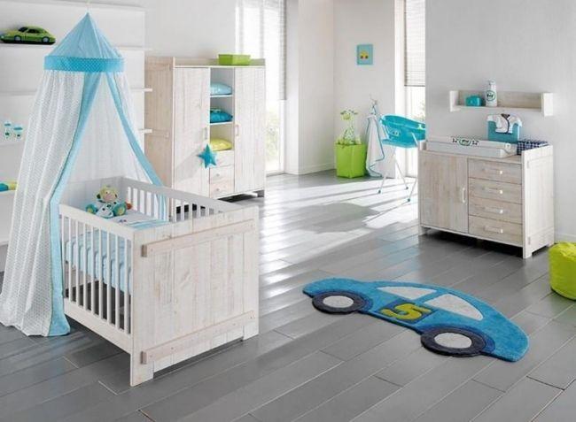 blau teppich auto wohnideen babyzimmer jüngen Baby \/ Dekoideen - babyzimmer fr jungs