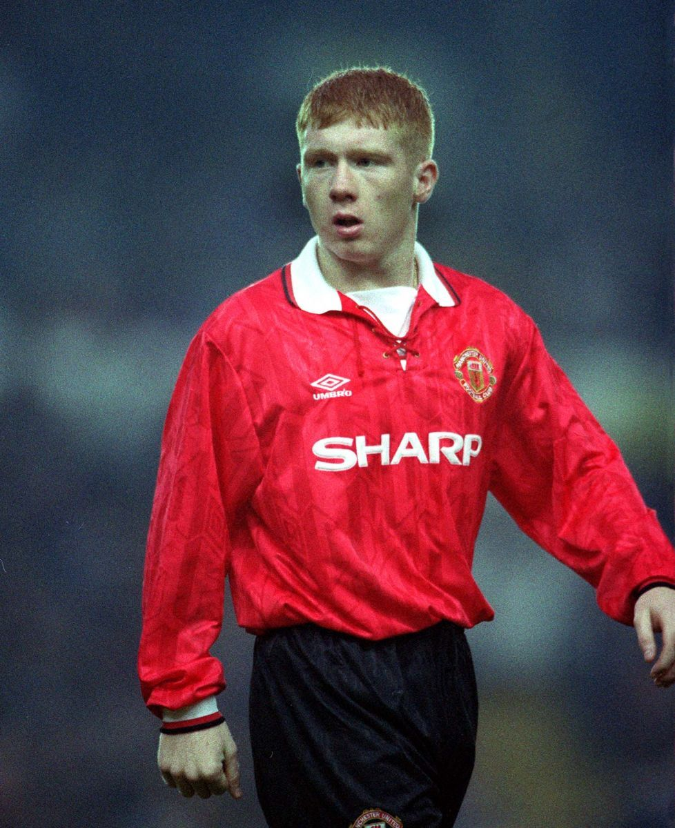 d90970fae Paul Scholes - Manchester United.....been told way to many times I play  like him lol