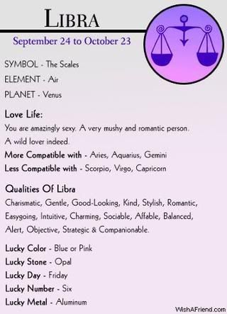 Signs That Are Compatible With Libra