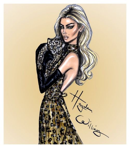 'Glamour Puss' by Hayden Williams