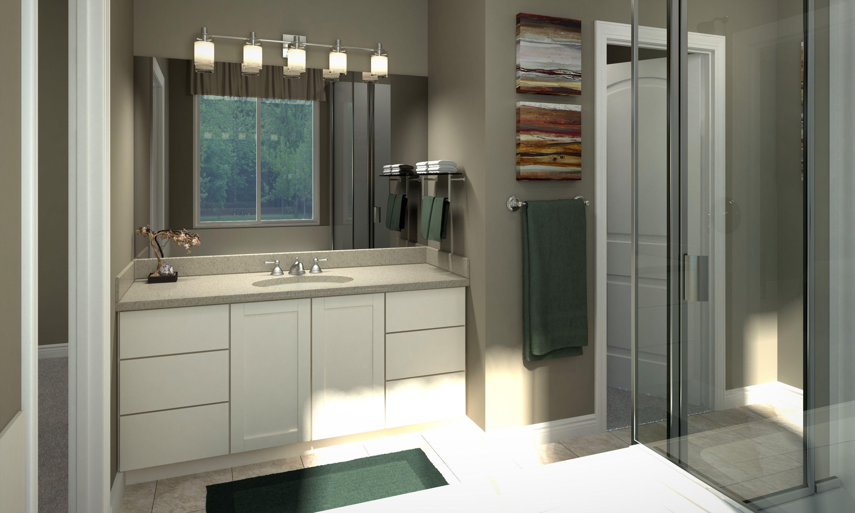 Sarena Master Bathroom House floor plans, Floor plans, Home