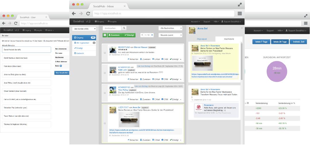 Socialhub Begeistern Sie Ihre Kunden Social Media Management Tools Social Media Management Software Social Media