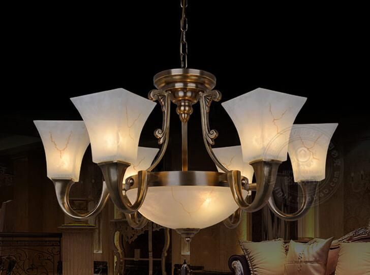 Plafoniere Led Vintage : 280.00$ buy here multiple chandelier copper lamp lamps of american