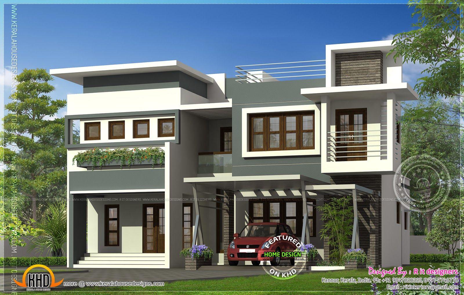 modern-house-kannur.jpg (1600×1018)   Modern, Maisonette