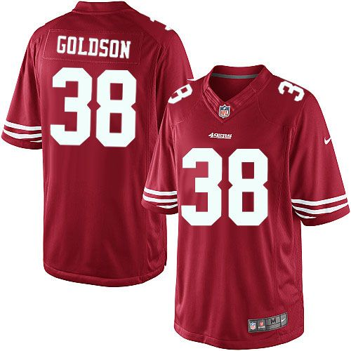 ... greece men nike san francisco 49ers 38 dashon goldson limited red team  color nfl jersey sale 78fc9607c