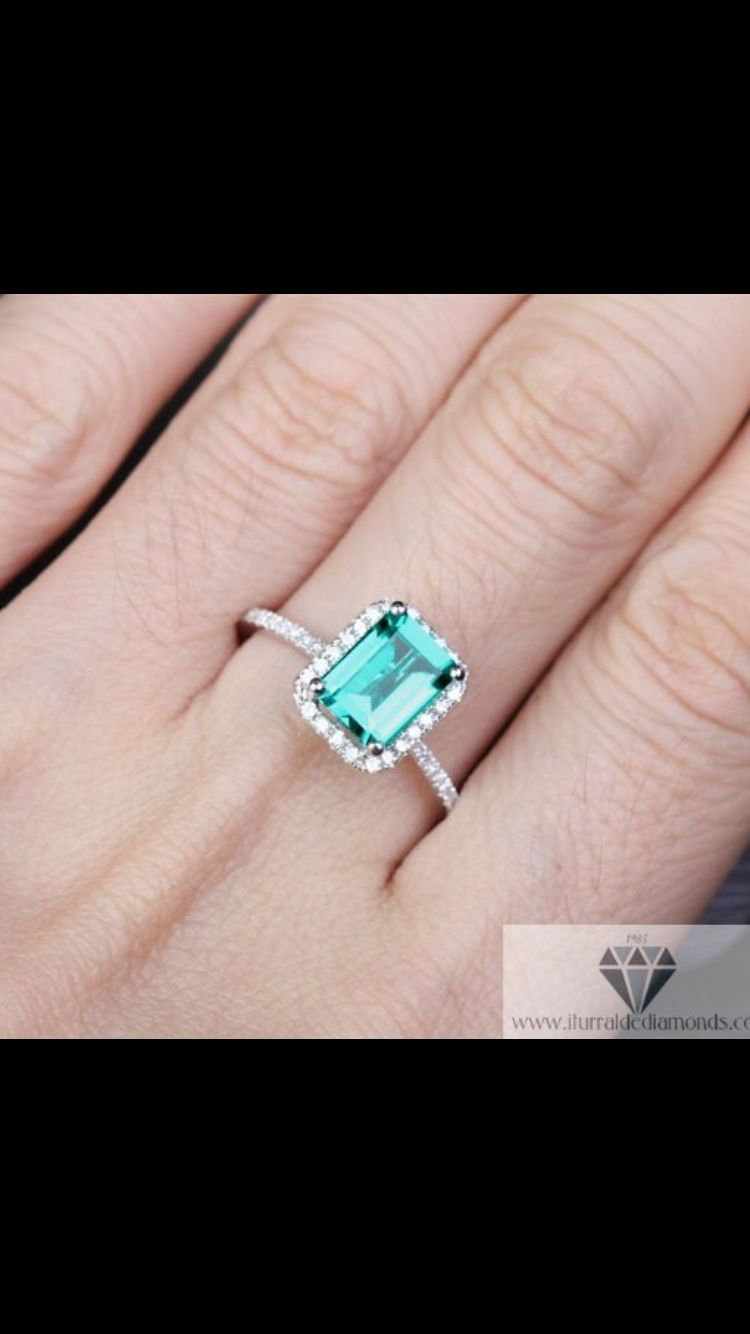 Emerald promise ring | My wedding | Pinterest | Promise rings and ...