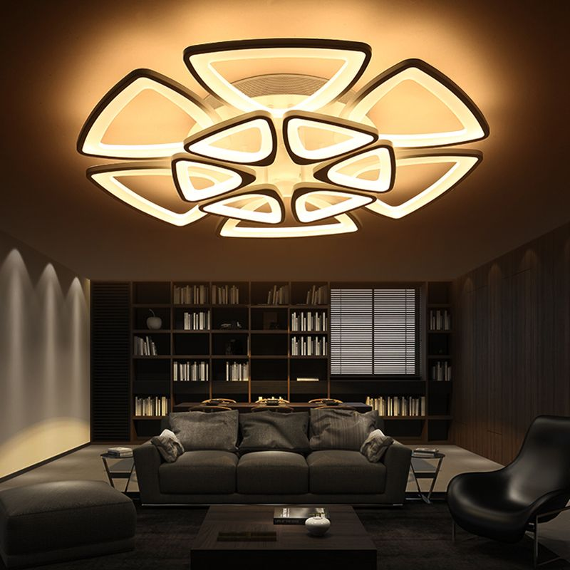 Minimalist Modern LED Ceiling Chandelier Lights For Living Room Bedroom AC Home Decorative Lamp Office Idea AliExpress Affiliates Pin