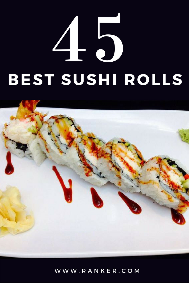 The Most Delicious Types Of Sushi Rolls With Images Sushi Recipes Homemade Sushi Roll Recipes Sushi Ingredients