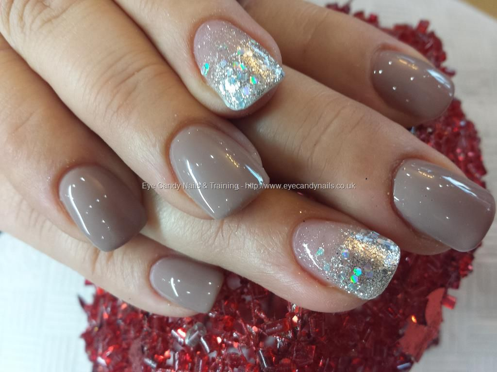 38 Awesome french manicure gel nails with glitter images   Nails ...