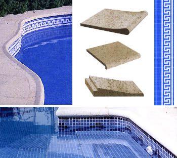 Pedido revestimientos bordes y guardas para piscinas for Bordes decorativos para piscinas