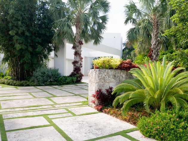 Miami landscaping ideas simple front yard landscape for Landscaping rocks broward county