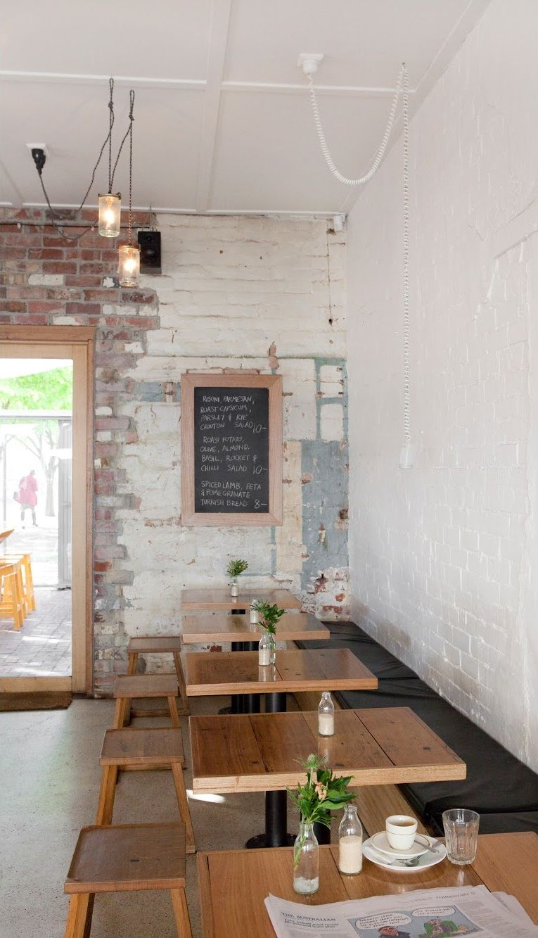 [Cafés e Restaurantes] Wee Jeanie | Melbourne :: #interior #design #decor