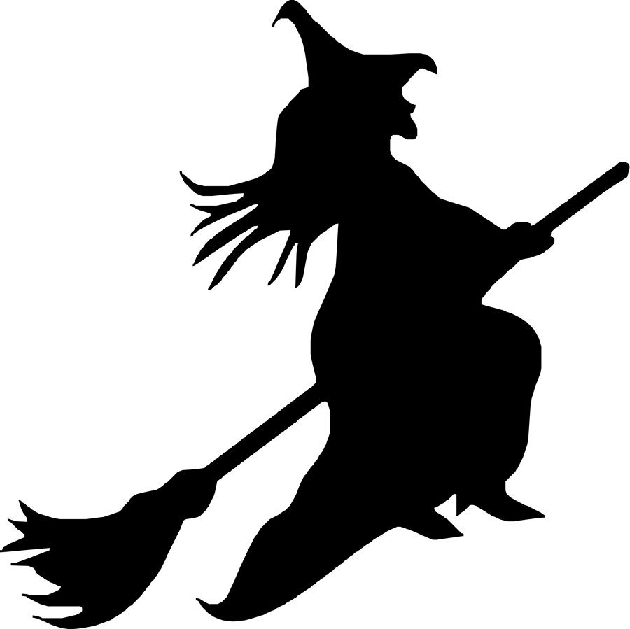 Image result for black and white witch images craft ideas