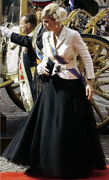 queenmaxima: Crown Princess Maxima of the Netherlands at Prinsjesdag, 2006