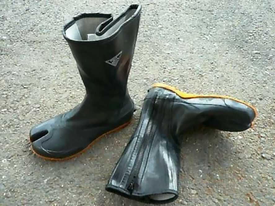 Rubber Tabi Waterproof Boots Ninja Tabi Farm Work Civil Engineering Japan Boots Boots Men Mens Boots For Sale