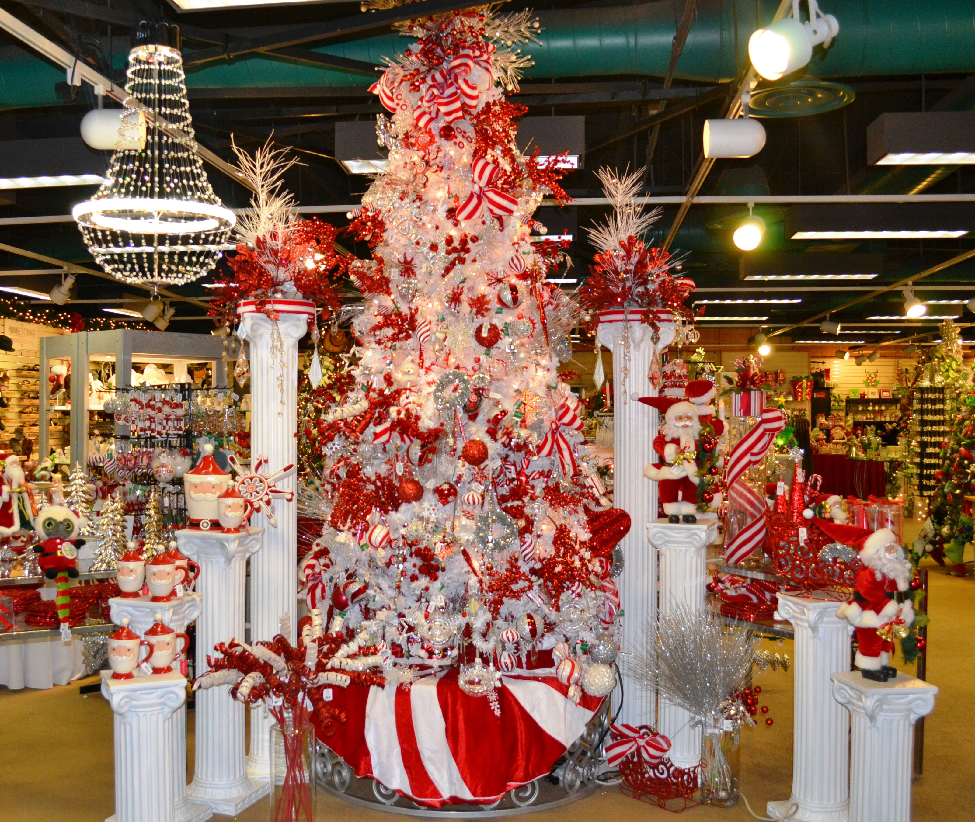Candy cane stripes inspired christmas tree at the emporium candy cane stripes inspired christmas tree at the emporium marketplace publicscrutiny Choice Image
