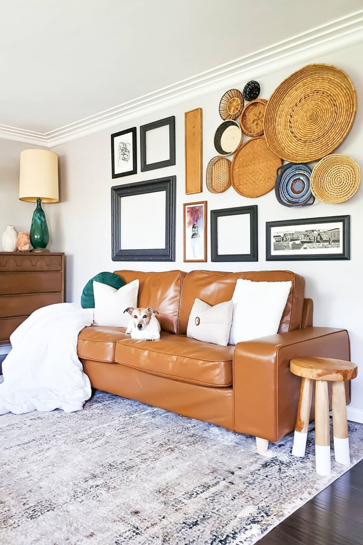 update your ikea kivik sofa with custom leather slipcovers