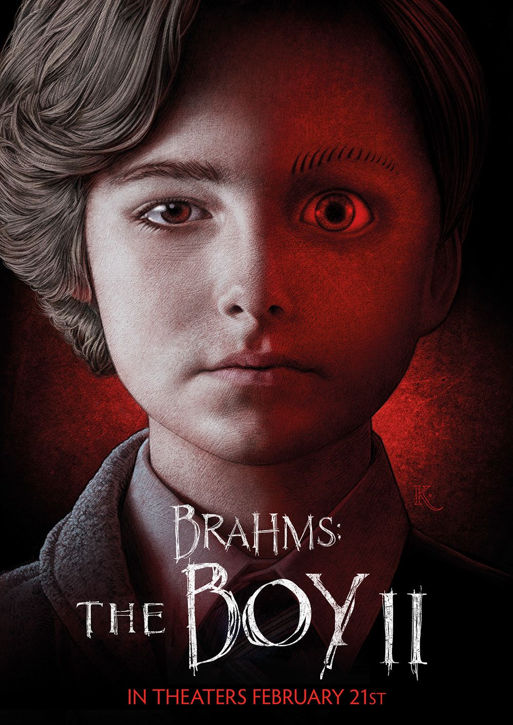 Brahms The Boy 2 Creative Brief Entry On Behance Horror Movies List Horror Movie Posters Horror Movies