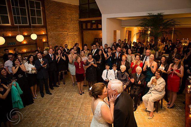 Foto do casamento realizado pela Communiquer Eventos.