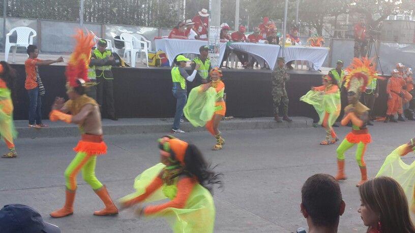 Desfile de fantasía.