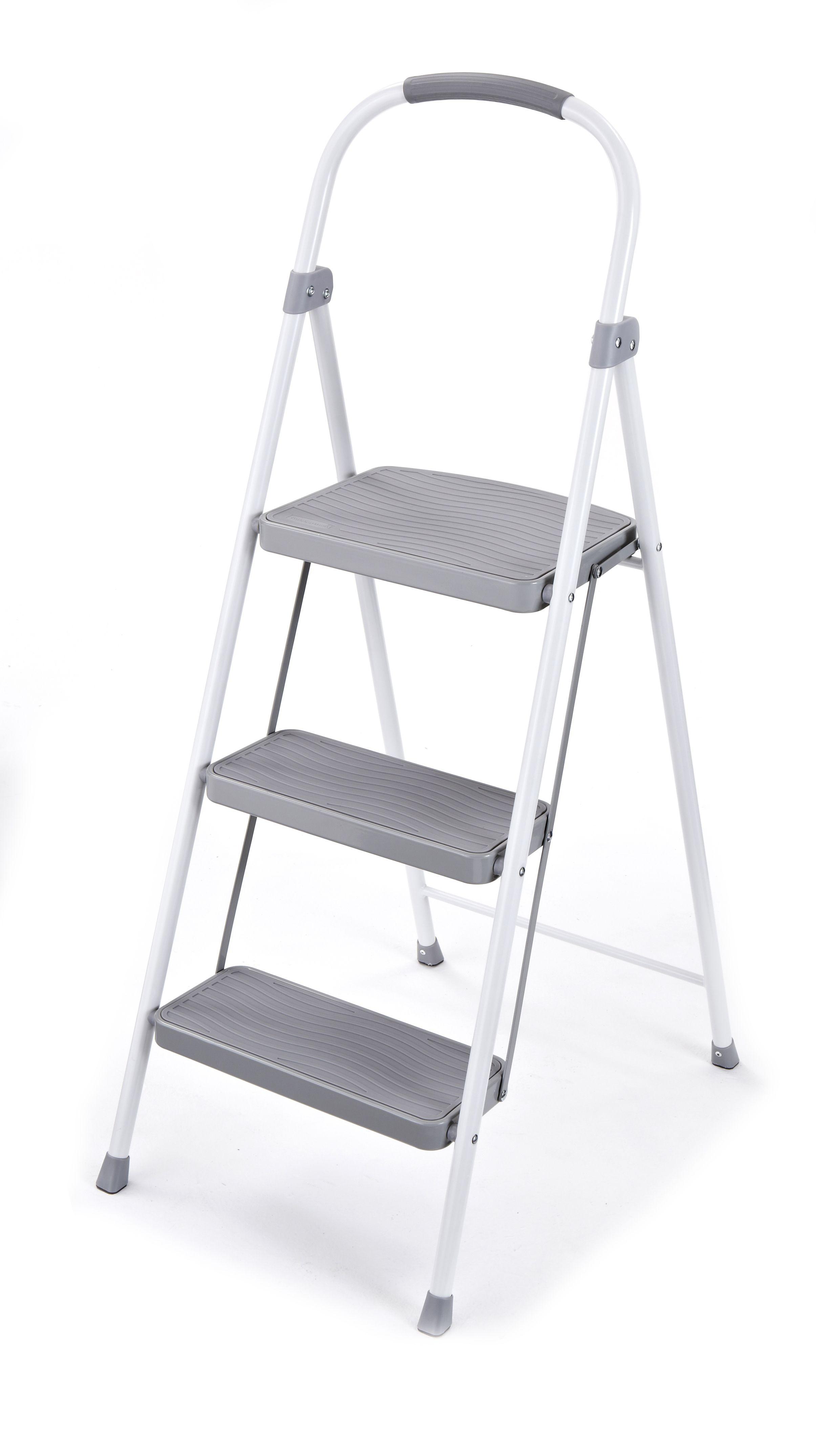 Home improvement stool 3 step stool steel