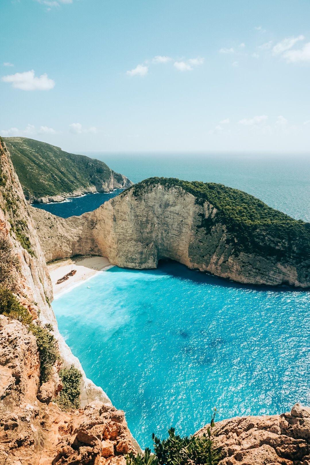 Shipwreck Beach Viewpoint In 2020 Beach Trip Visiting Greece Travel