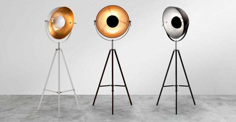 Fortuny Deco Tendance Atelier 6 Made Lampadaire Tripode Lampadaire Lampe