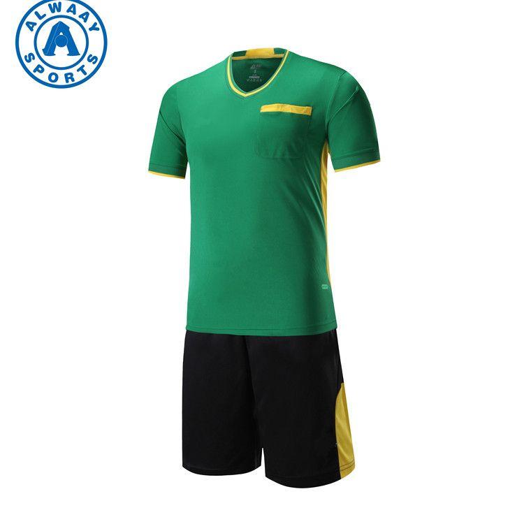 2018 New Cheap Soccer Referee Jersey Soccer Referee Shirt Soccer Referee Uniforms For Sale Referee Shirts Referee Uniforms Mens Tops