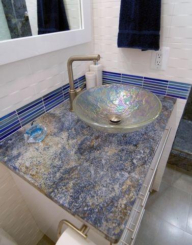 Blue Bahia Granite For Bathrooms Blue Bahia Granite Vanity Tops