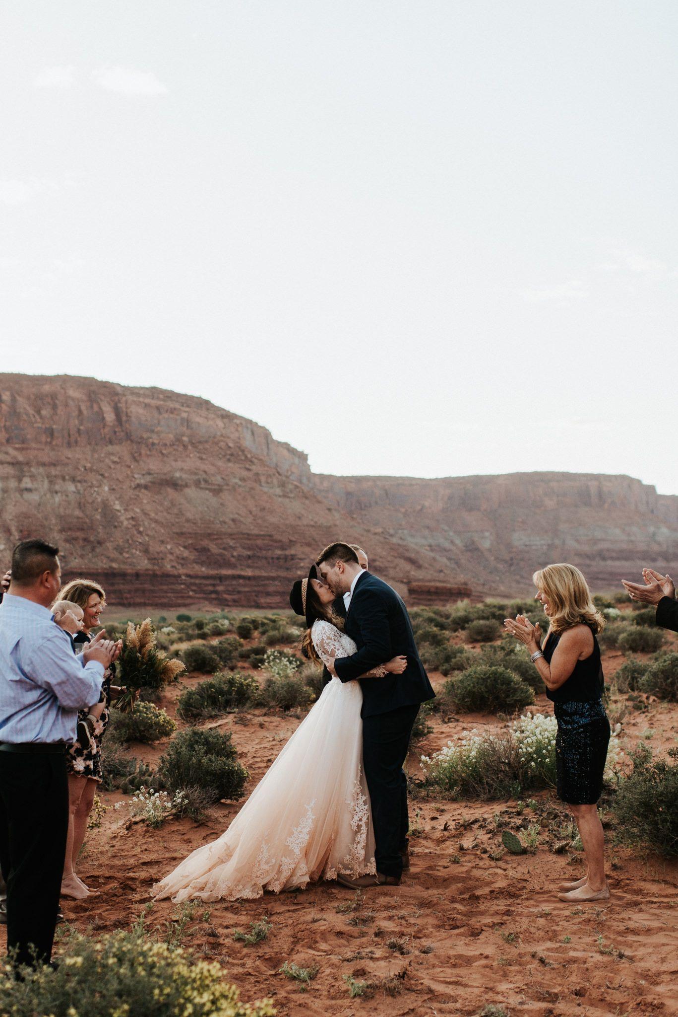 Moab, Utah Intimate Desert Elopement | CEREMONY DECOR + INSPO