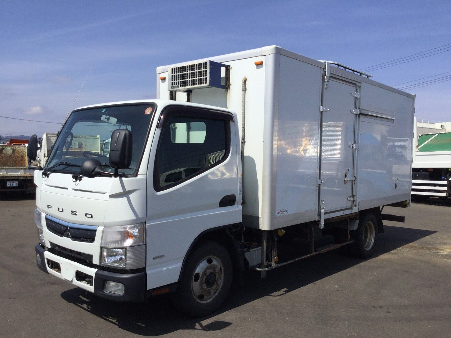 2016 Mitsubishi Canter Freezer Truck 2 Ton Tpg Fea50 In 2020 Mitsubishi Canter Trucks Used Trucks For Sale