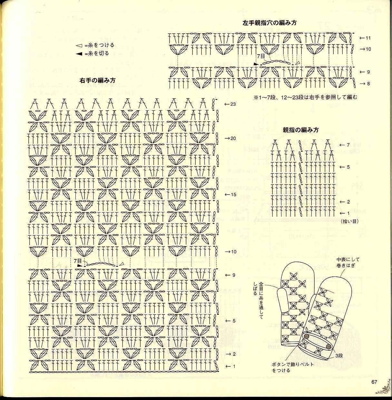 Mitones crochet patrones - Imagui | crochet | Pinterest | Patrones ...
