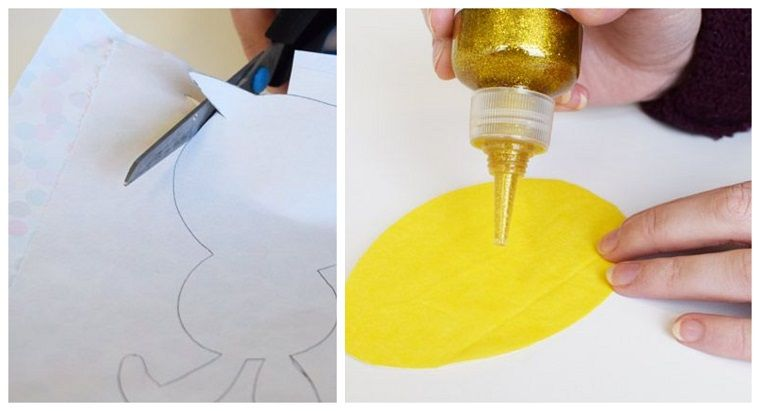 Photo of chores-of-easter-simple-garland-egg-carton-yellow-glitter-glue