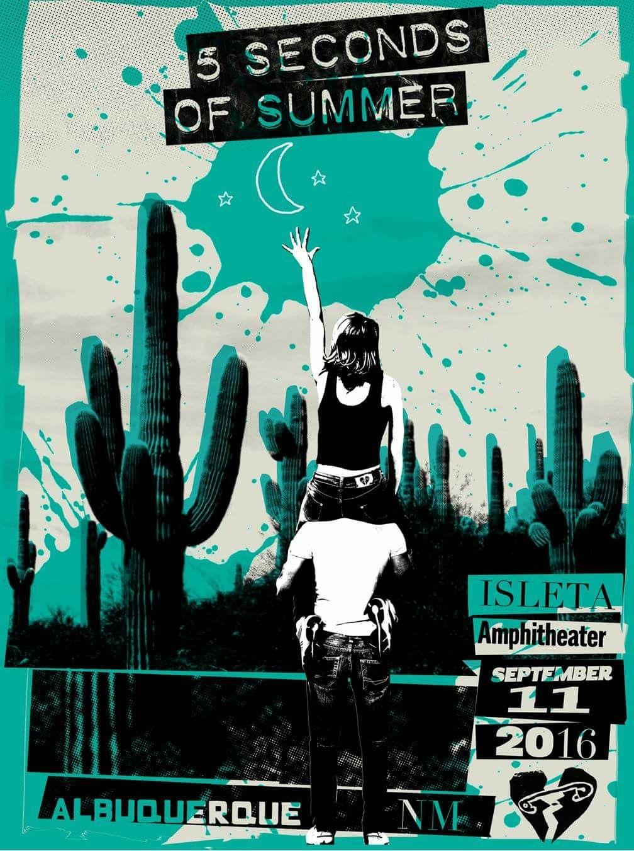 5sos poster design - Explore Concert 2k16 5sos Concert And More