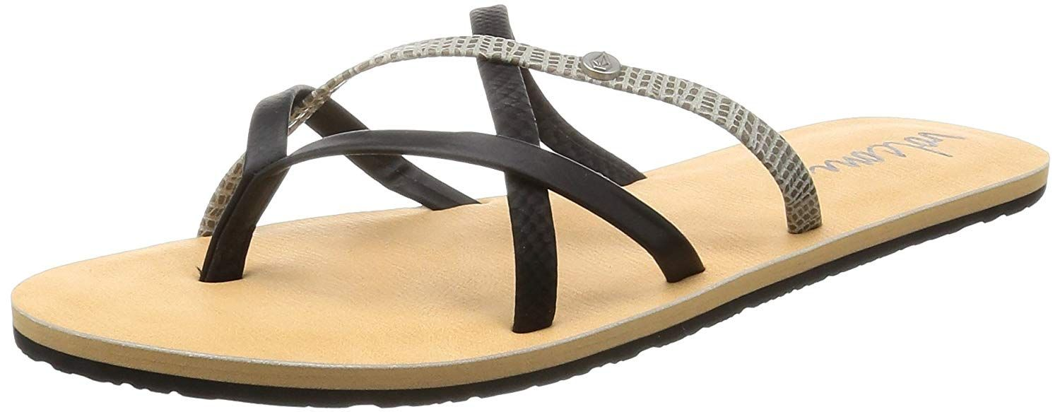 Volcom New School Womens Sandal Dress Very Kind Of Your Presence To Drop By To View The Photo This Is An Af Volcom Women Womens Sandals Flat Dress Sandals [ 583 x 1500 Pixel ]