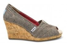 Toms shoes will donate a pair of shoes to a child in need for every pair of shoes purchased! Love these ones!