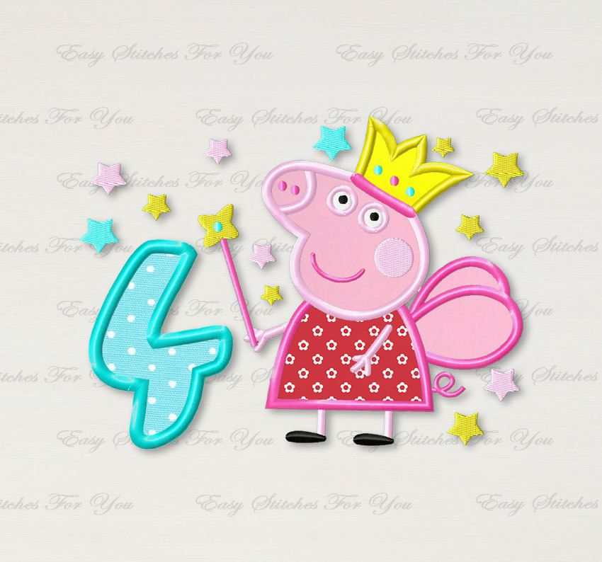 Embroidery Free Designs Peppa Pig