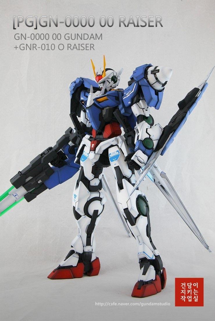 [PG] GN-0000 Gundam 00 Raiser by Smong guitar - Master modelers' community Signaturedition.com