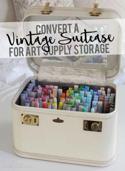 Travel Art Supply Storage Ideas