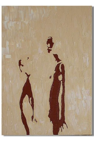ART-JUGENDSTIL-LEINWAND-BILDER-kunst-AKT-bauhaus-kueche-XL-KULT-OL - bild schlafzimmer leinwand
