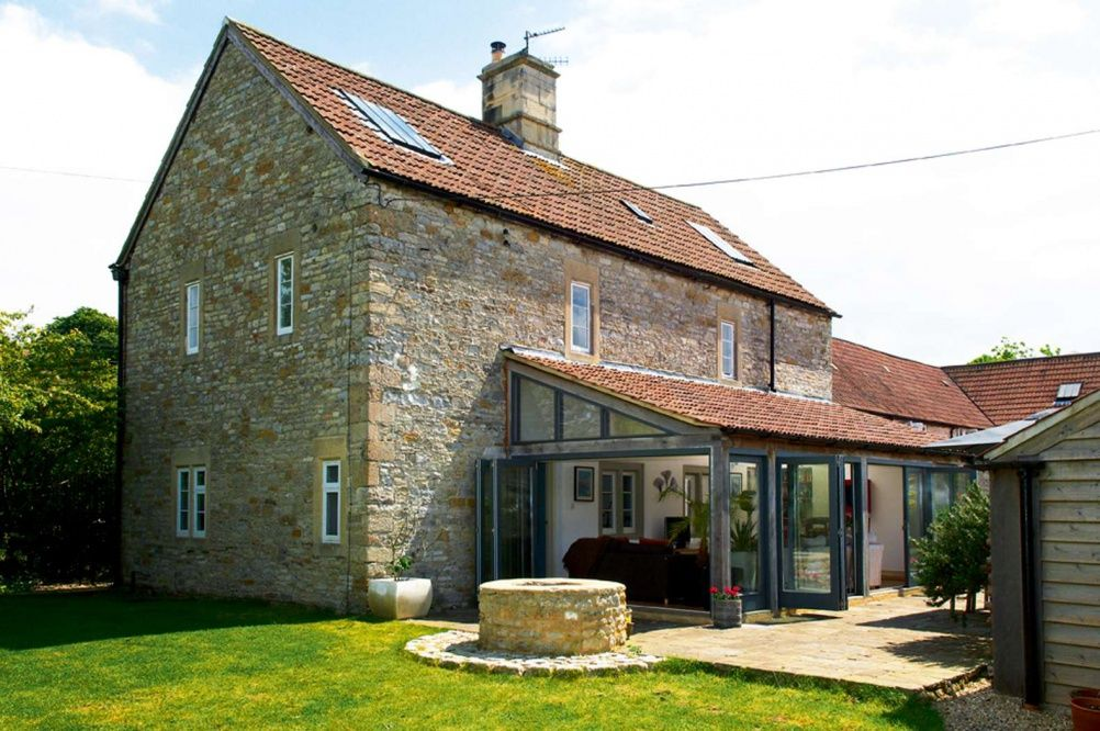 Listed stone cottage extension ideas for the house for Cottage extension designs