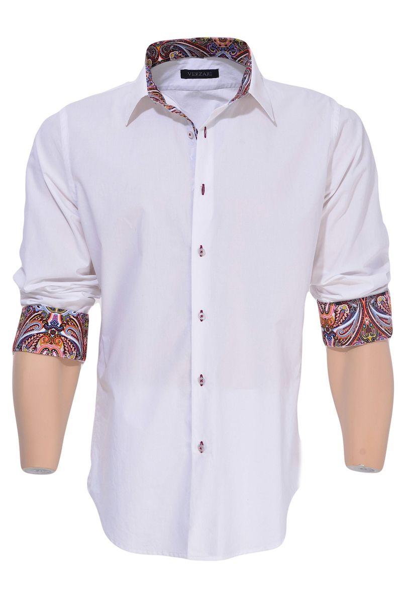Verzari Makes Beautiful Designer Mens Shirts Without The High