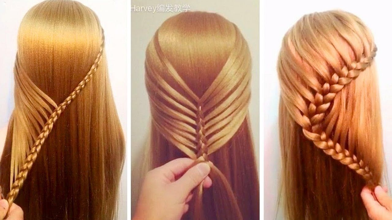 Top 7 Amazing Hair Transformations Beautiful Hairstyles Tutorials Compilation 2017 Youtube Hair Tutorial Cool Hairstyles Hair Styles