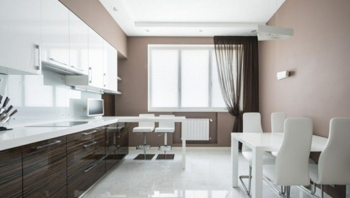 Die Taupe Farbe im Innendesign - 45 überzeugende Ideen! Küche - küche farben ideen